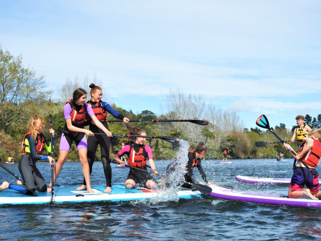 Waimarino Trust | After School Care | Holiday Programme Tauranga | Stand Up Paddle
